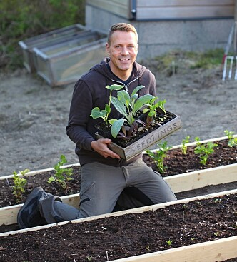 <strong>IKKE PLANT UT FOR TIDLIG:</strong> Husk å ta hensyn til nattetemperaturen før du planter ut, råder Kenneth Ingebretsen. FOTO: Garden Living