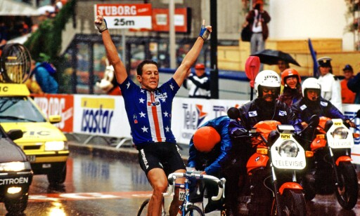 FEIRET I OSLO: Lance Armstrong. Foto: NTB Scanpix