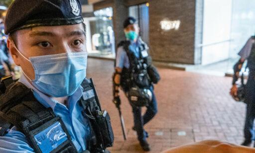 image: - Dette er slutten på Hongkong
