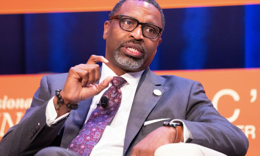 NAACP: President ved NAACP, Derrick Johnson. Foto: Earl Gibson III/Shutterstock