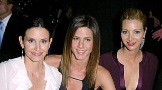 Mandatory Credit: Photo by Alex Berliner/BEI/REX (408925cj) Courteney Cox and Jennifer Aniston and Lisa Kudrow The 9th Annual Screen Actors Guild Awards at the Shrine Auditorium, Los Angeles, America - 09 Mar 2003
