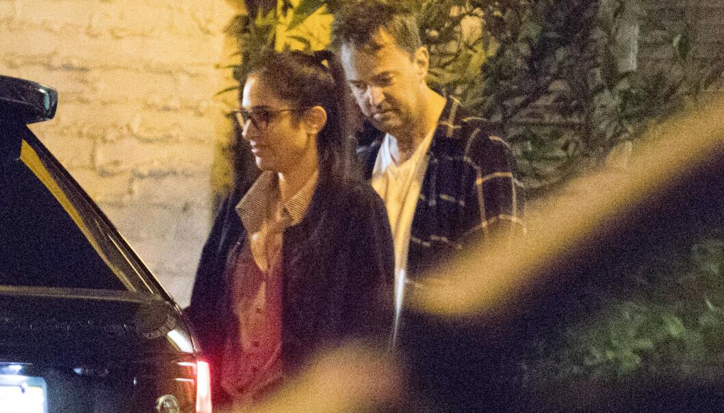 FLØRTER IGJEN: Matthew Perry (50) skal visstnok være aktiv på datingappen Raya etter bruddet med Molly Hurwitz. Foto: Mega/ NTB scanpix