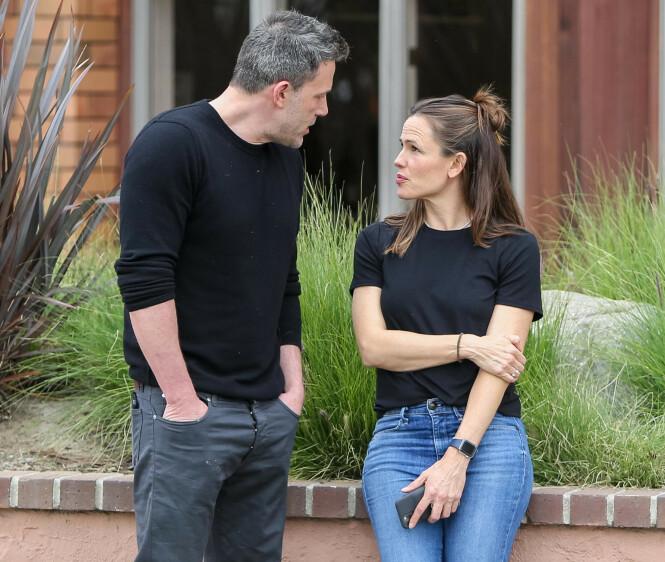 GÅTT VIDERE: Jennifer Garner og Ben Affleck har begge gått videre etter bruddet. Her avbildet sammen i februar. Foto: NTB scanpix