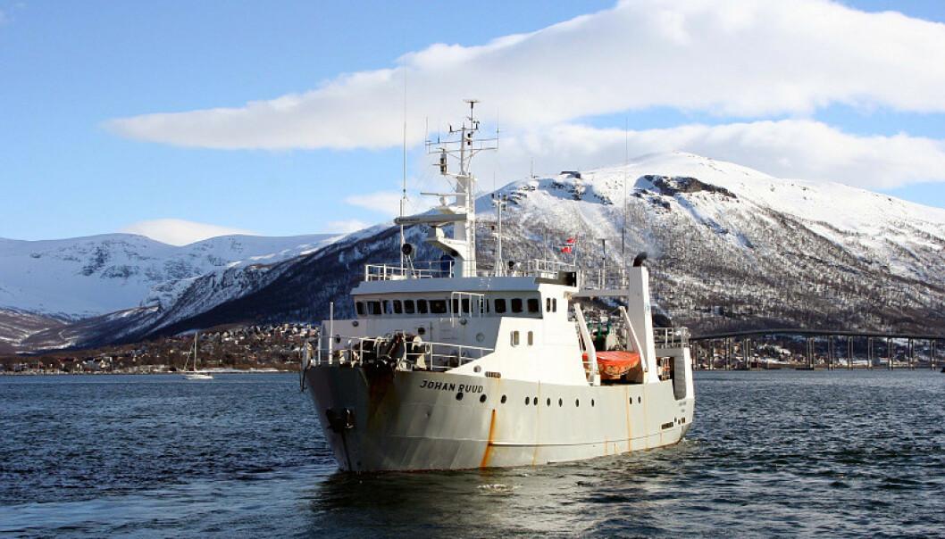 LOTHE-BÅT: Leif Einar Lothe har kjøpt forskningsfartøyet «Johan Ruud». Foto: UiT/Randi M. Solhaug