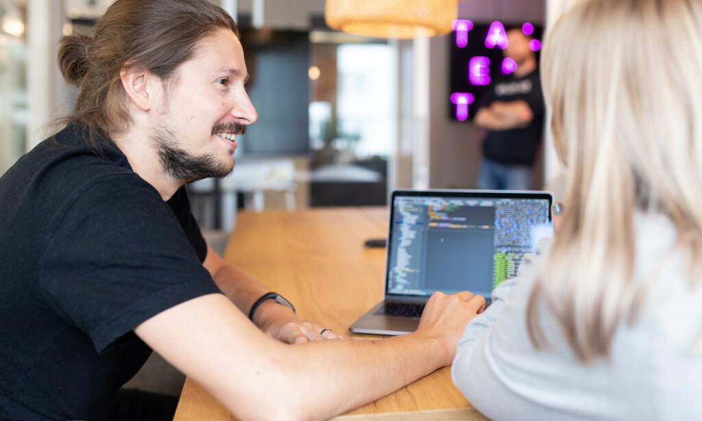 image: Talented søker erfarne frontend utviklere
