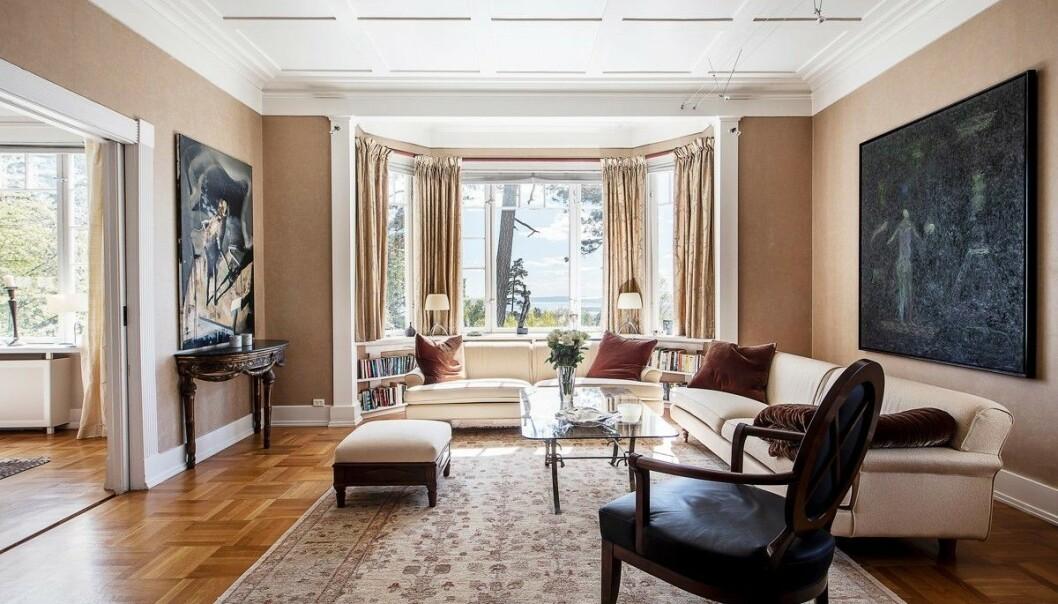 <strong>HERSKAPELIG PREG:</strong> Christian Rytter ber om 60 millioner kroner for boligen. Foto: Studio Oslo