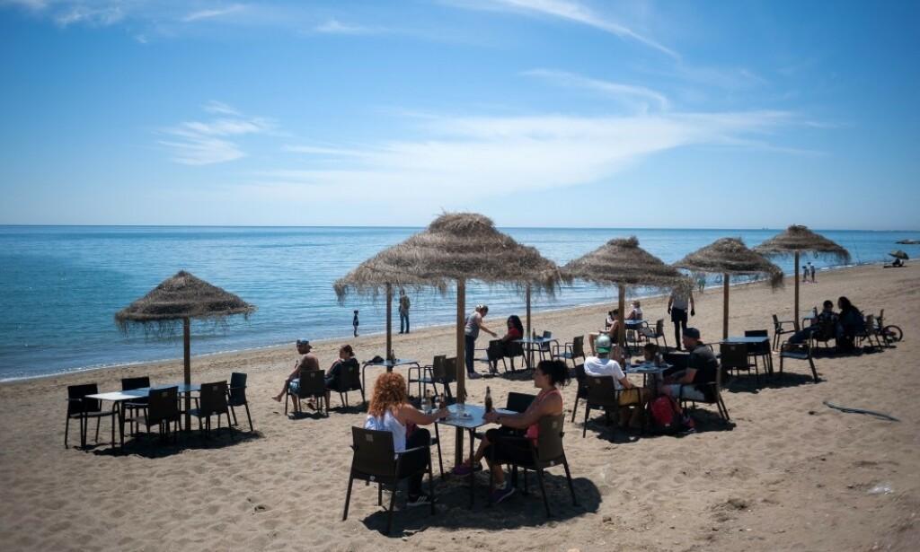 FERIEFAVORITT: Malaga (bildet) er blant nordmenns feriefavoritter i Spania. Det europeiske landet åpner for turisme i sommer, men det er fortsatt uvisst om Norge vil gjøre unntak fra dagens reiseråd, som fraråder alle utenlandsreiser fram til 20. august. Foto: NTB scanpix