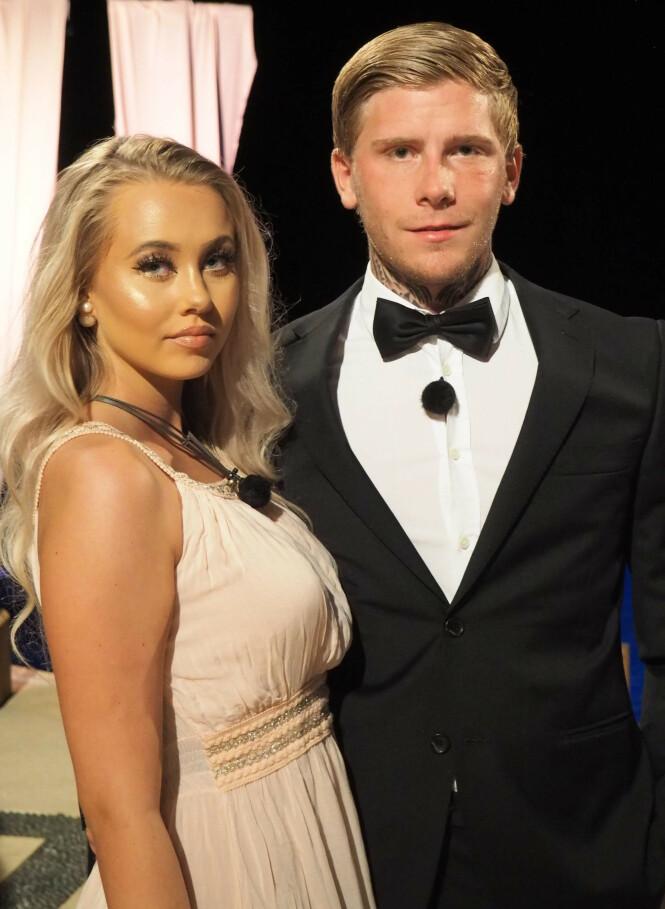 SLAPP KULA: Martine Lunde og Kevin René Gustavsson vant «Paradise Hotel» sammen, men bare førstnevnte reiste hjem med premie. Foto: TV3 / Hilde Borg