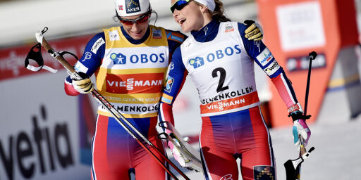 image: Comeback-Bjørgen får med seg Johaug