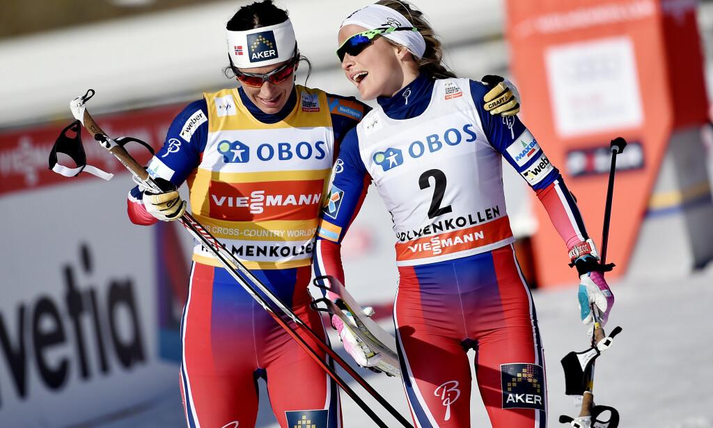 TILBAKE: Tirsdag ble det klart at Marit Bjørgen gjør comeback i langløp til vinteren. Med seg på laget får hun også Therese Johaug. Foto: Jon Olav Nesvold / NTB scanpix