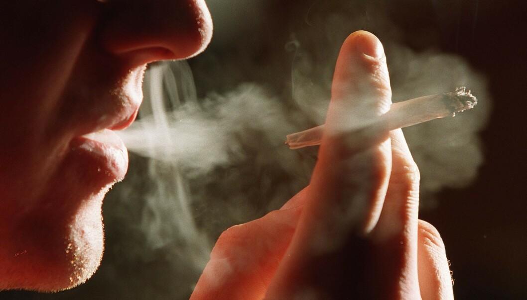 IKKE FOREBYGGENDE: Det er ingen tegn til at nikotin eller røyk hindrer coronasmitte, men studier peker på at færre røykere legges inn på intensivavdeling. Når de først havner der, kan røykerne imidlertid ha et mer alvorlig forløp enn ikke-røykerne. Foto: Jon Eeg / NTB scanpix