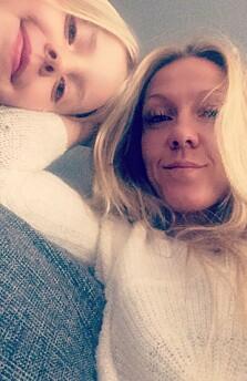<strong>NÆRT FORHOLD:</strong> Monica med datteren Nanna. FOTO: Privat
