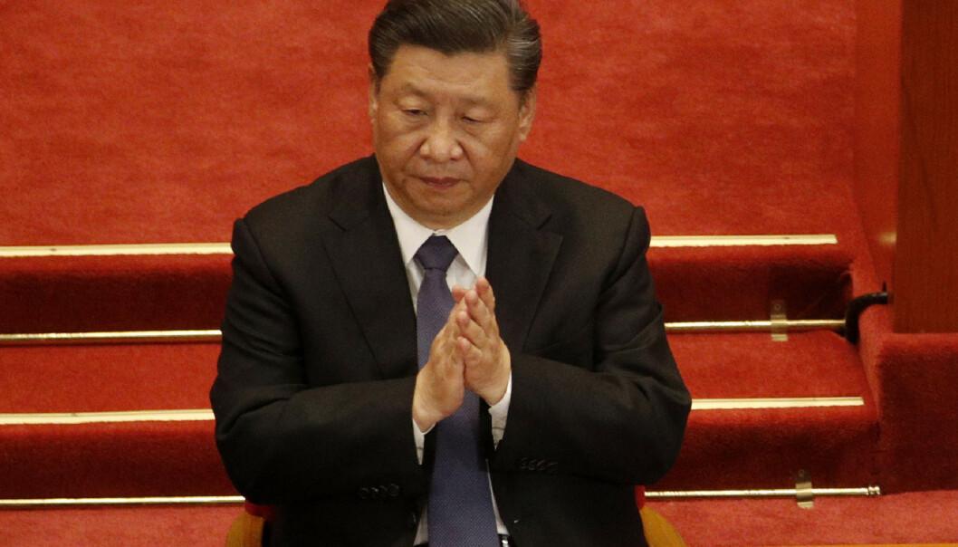 <strong>HEVN:</strong> Flere eksperter mener Kina og president Xi Jinping hevner seg på Australia når de ilegger dem toll. Foto: AP Photo / Andy Wong / NTB scanpix