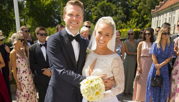 <strong>BLIR FORELDRE:</strong> Harald og Katarina giftet seg for to år siden. Om bare kort tid blir de foreldre for første gang. Foto: Espen Solli