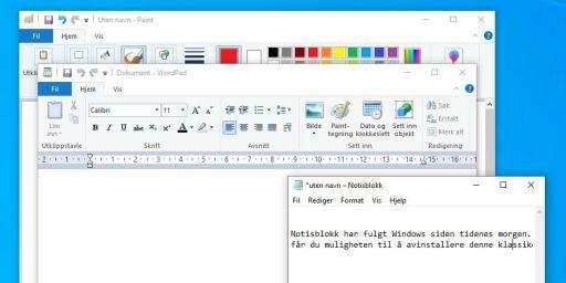 image: Dette er nytt i Windows 10
