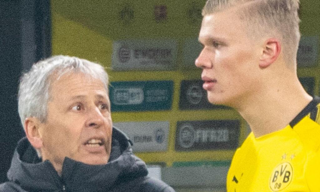 image: Haalands trener tordner