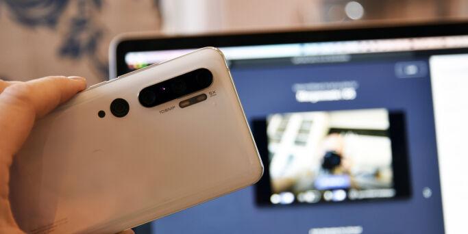 image: Bruke telefonen som webkamera til PC