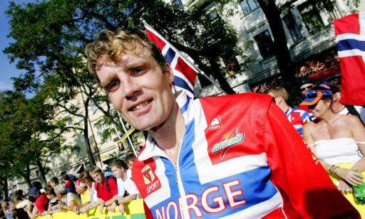 REAGERER PÅ KRITERIER: Knut Anders Fostervold, her fra VM-debuterte i sykkel-VM i Østerrike. Foto: Håkon Mosvold Larsen / SCANPIX