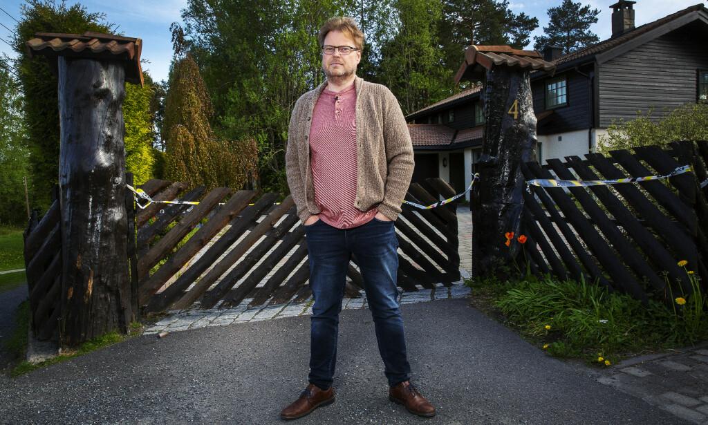 STOLER PÅ POLITIET: Jørn Lier Horst har tillit til politiet.- Norsk politi har integritet, sier Horst. Foto: Henning Lillegård / Dagbladet