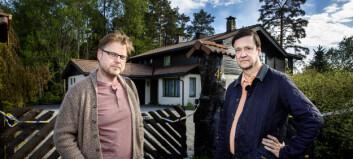 Elden og Horst på åstedet: Tviler på oppklaring