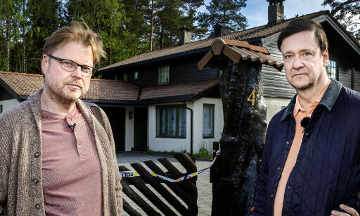 image: Elden og Horst på åstedet: Tviler på oppklaring