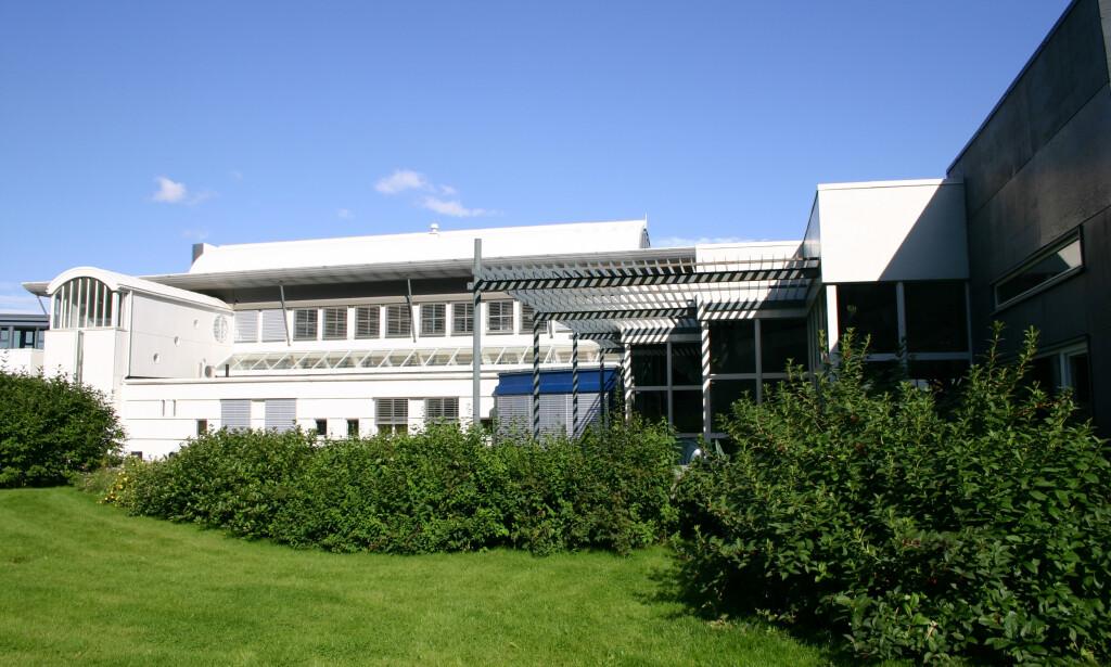 Nasjonalbiblioteket Rana *** Local Caption *** parkanlegg, bakgård, sommer, mediebygget