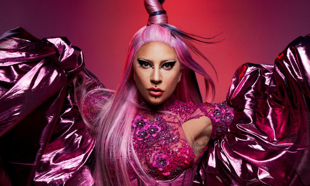 TILBAKE PÅ DANSEGULVET: Lady Gaga returnerer til dansegulvet på festalbumet «Chromatica». Foto: Interscope