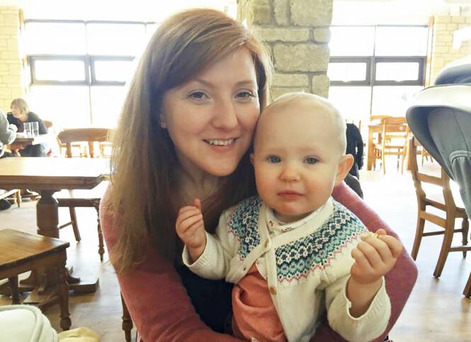 GODE DAGER: Amys høyeste ønske var å bli mamma – og da lille Esmee kom til verden, kunne hun ikke hatt det bedre. Da mamma døde, var Esmee fem år gammel. Foto: PA Real Life