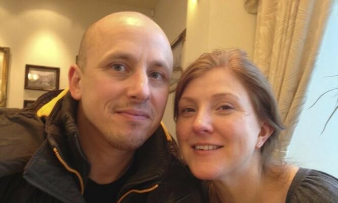MØTTES PÅ NETT: Sam og Amy ble kjent på en dating-app – og falt pladask for hverandre da de møttes. Foto: PA Real Life