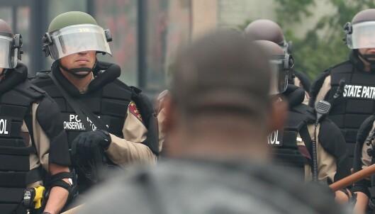 - Politiet er ute av kontroll