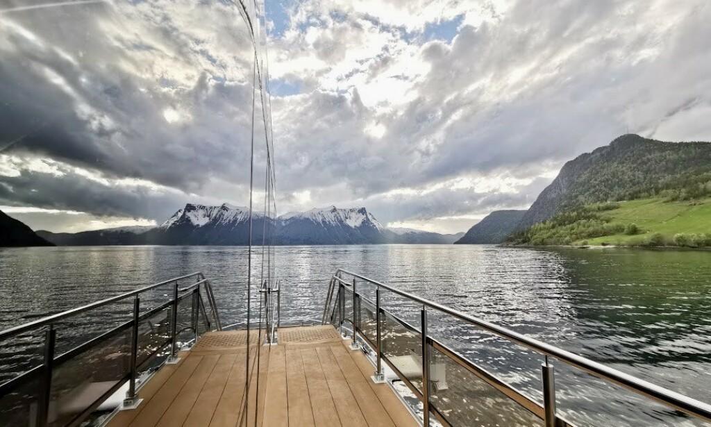 image: Nordlys? Nei takk. Nå vil vi ha grønt fjordlys