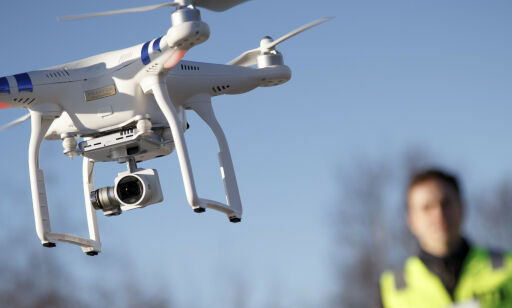 image: Politiet rykker ut med drone