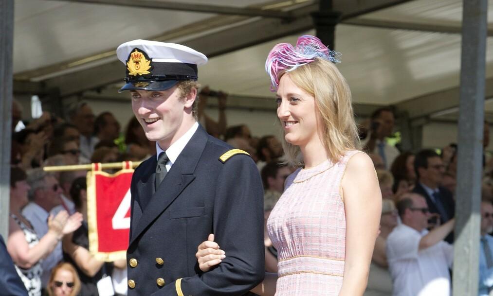 CORONASMITTET: Prins Joachim (28) av Belgia har fått påvist coronaviruset. Tidligere i mai deltok han på en fest med 27 deltakere i Spania. Her er han med søstera Maria Laura i 2013. Foto: NTB Scanpix