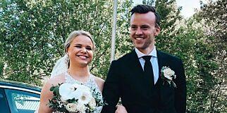 image: Nå er hun gift