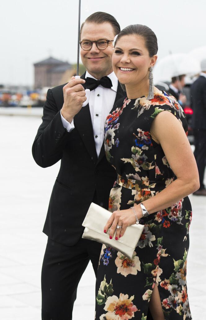 GODE VENNER: Sofia Schörling Högberg er nær venn av kronprinsesse Victoria og prins Daniel. Foto: NTB Scanpix