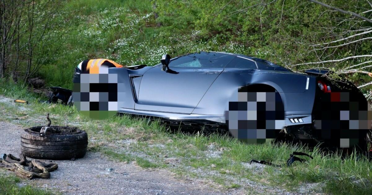 Totalvraket sportsbil til 1,5 millioner