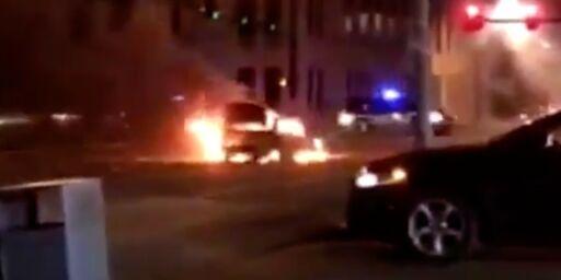 image: Politifolk skutt og påkjørt i USA