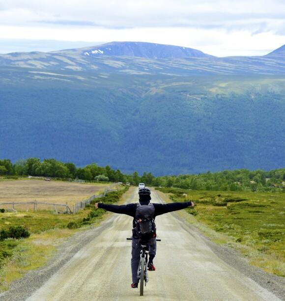 <strong>VARIERT:</strong> Turen opp fra Grimsdalen er drøy, men desto bedre er nedfarten til Dovre.
