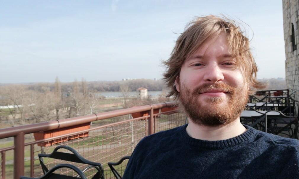 Even B. Frøyen (33) ble kåret til Norges beste Java-programmerer. 📸: Privat
