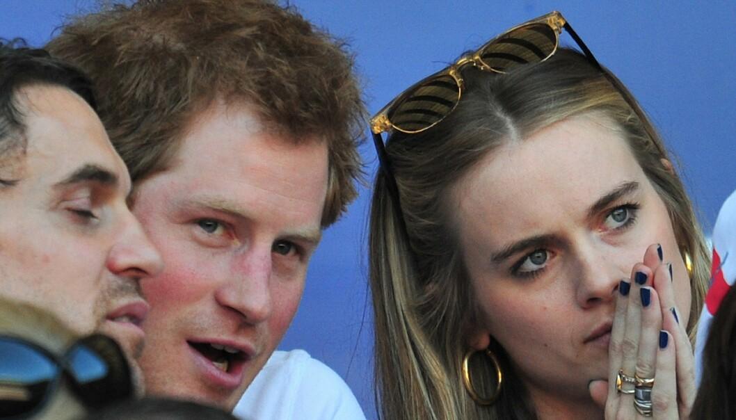 DEN GANG DA: Prins Harry og Cressida Bonas i mars 2014. Foto: NTB Scanpix