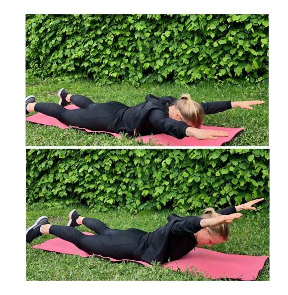 RYGGHEV: En effektiv øvelse som trener hele baksiden av kroppen. FOTO: Torp & Co