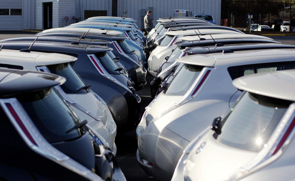 Nissan Leaf går opp 30.000-40.000 i pris. Men det er ennå mulig å gjøre et kupp. Foto: AP Photo/David Goldman.