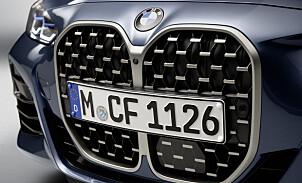 Sjekk BMWs nye ansikt