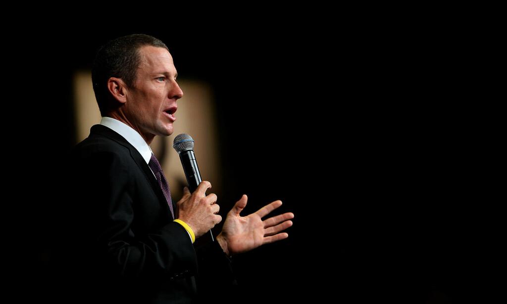 SYMPATI: Lance Armstrong har sympati med sin tidligere bitre rival. Foto: NTB Scanpix