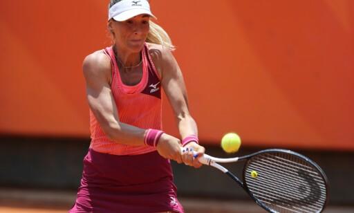FIKK SJOKK: Den rumenske tennisspilleren Alexandra Cadantu. Foto: NTB Scanpix