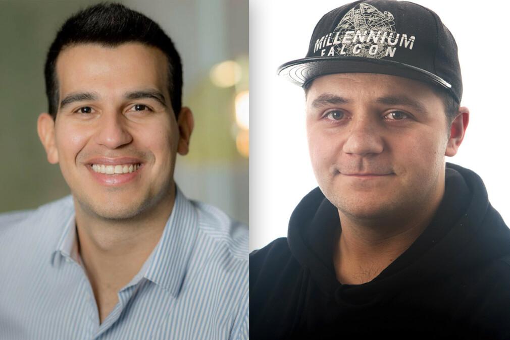Alejandro C. Ortega og Damir Miletic blir begge utviklere hos CGI. 📸: CGI