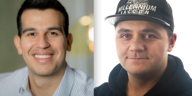 image: Alejandro (30) og Damir (24) til CGI