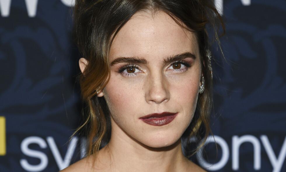FÅR HØRE DET: Emma Watsons innlegg har skapt en rekke reaksjoner. Nå tar stjerna bladet fra munnen. Foto: NTB Scanpix