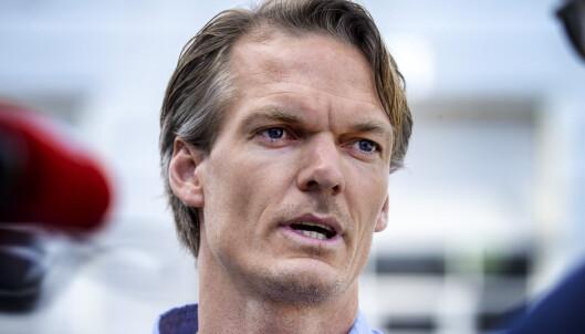 FORSVARER: Mikkel Toft Gimse i advokatfirmaet Hjort er Tom Hagens medforsvarer. Foto: Henning Lillegård / Dagbladet