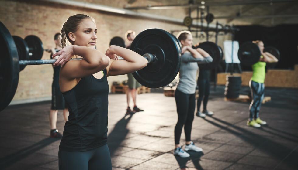 ÅPNING AV TRENINGSSENTRE: Fra og med 15. juni kan vi trolig trene innendørs på treningssentrene igjen. De har vært stengt siden 12. mars 2020 som følge av Korona-pandemien. FOTO: NTB scanpix